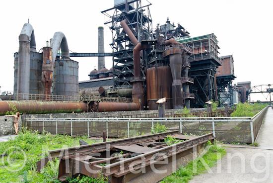 Landschaftspark, Duisburg-Nord - the steel works