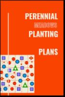 Perennial Planting Plans cover